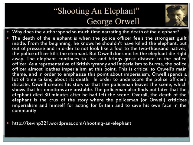 pride and power in george orwells shooting T o win a prize that carries george orwell's name is a source of pride for any journalist but it was impossible for me to accept it in a city struggling to come to terms with the horrors of.