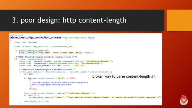 3. poor design: http content-length  broken way to parse content-length #1