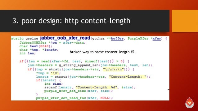 3. poor design: http content-length  broken way to parse content-length #2