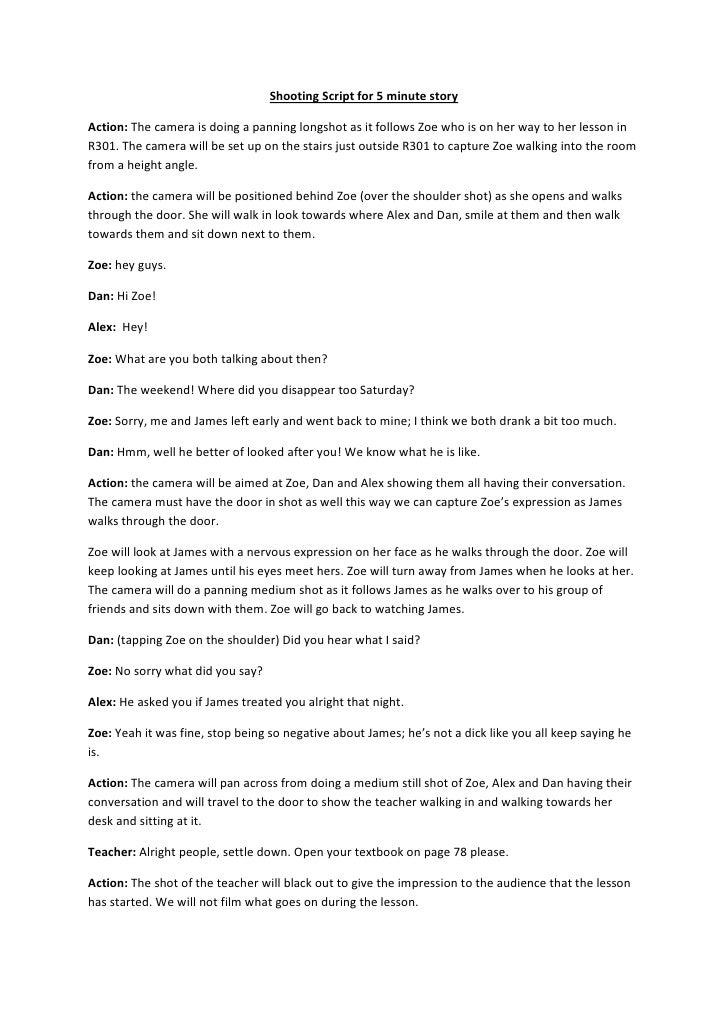 i am a camera script pdf