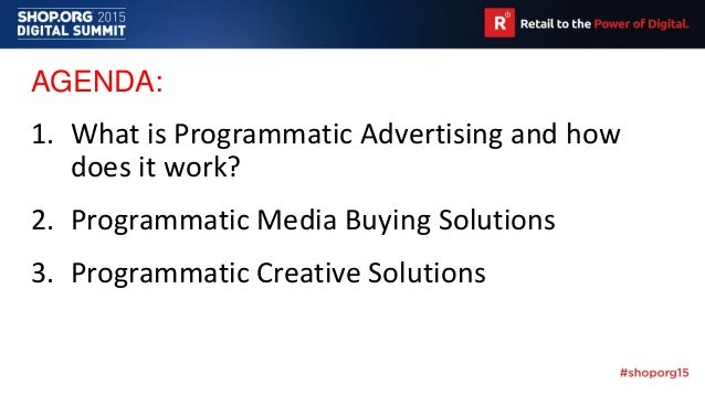 Programmatic Advertising Solutions for Retailers and Brands Slide 3