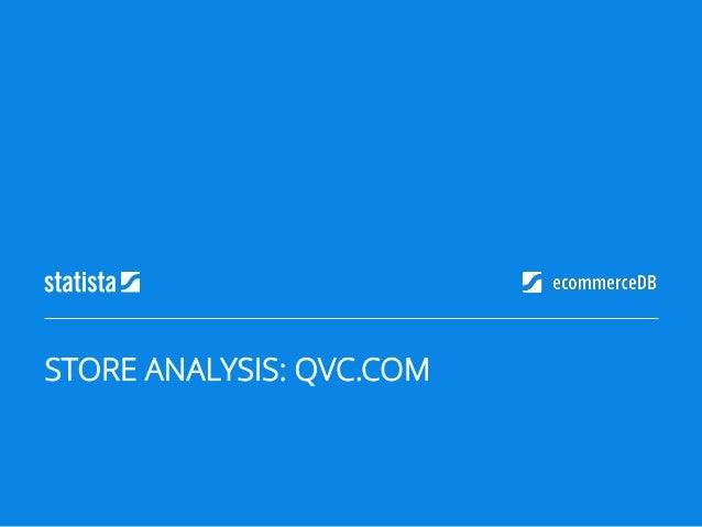 STORE ANALYSIS: QVC.COM