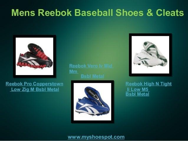 efde3622055 Mens Reebok Baseball Shoes   Cleats www.myshoespot.com Reebok Pro  Copperstown Low Zig ...