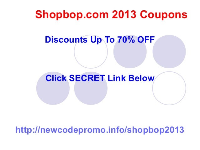 Shopbop's inventory ensures that you are going to get a dress that looks great and lasts a lifetime. But if you are more budget conscious, you can use a Shopbop promotional code and save a little money at the same time. So when it is time to pick out something new, use a coupon code and maybe save enough for a second dress too.