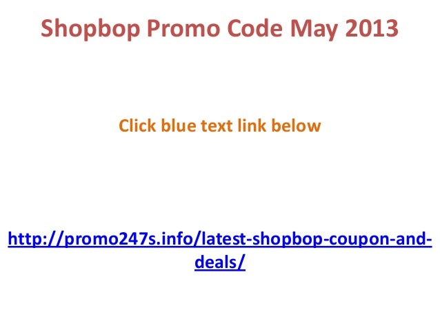 shopbop promo code may 2013 free shipping and 70 off now