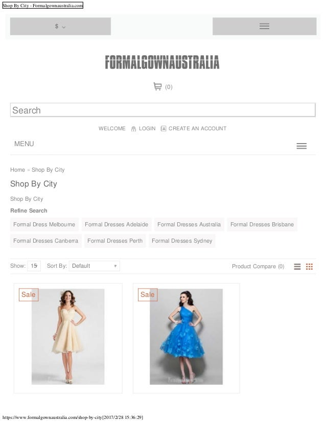 Shop By City - Formalgownaustralia.com https://www.formalgownaustralia.com/shop-by-city[2017/2/28 15:36:29] Home » Shop By...