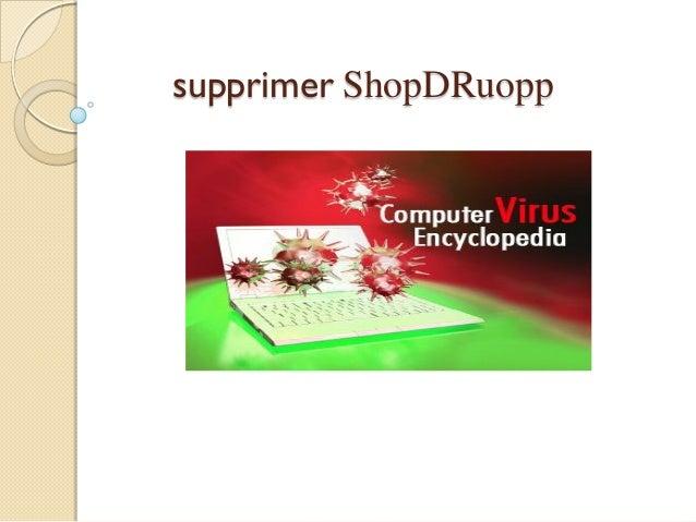 supprimer ShopDRuopp