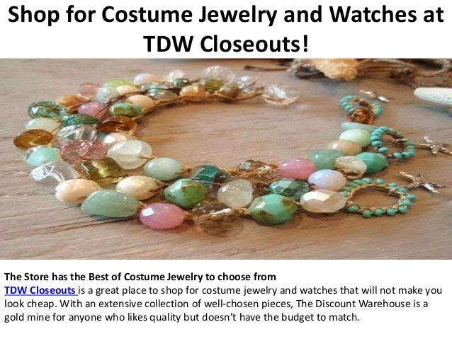 3. Shop for Costume Jewelry and Watches ...  sc 1 st  SlideShare & Shop for Costume Jewelry and Watches at TDW Closeouts!