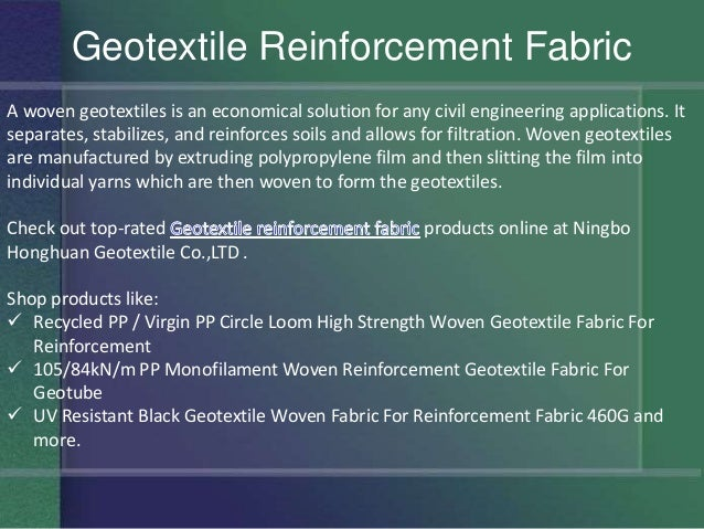 Shop for Non Woven Geotextile Fabric at Ningbo Honghuan