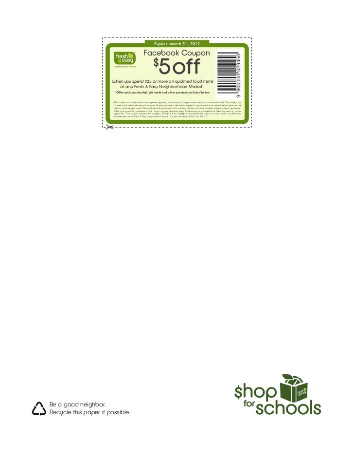 Shop for schools   march 2012