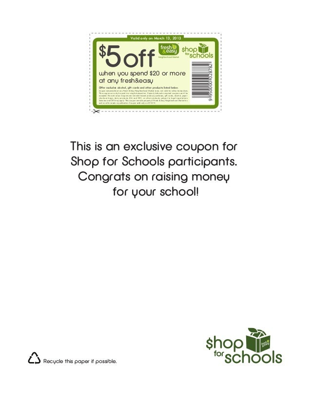 Valid only on March 13, 2013                       $                             5 off                                    ...