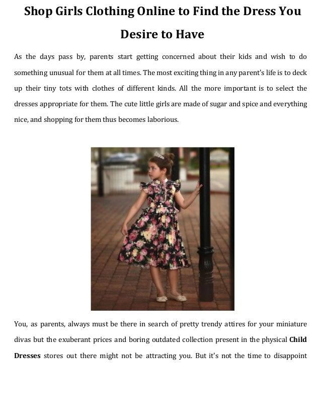 Find Dresses Online