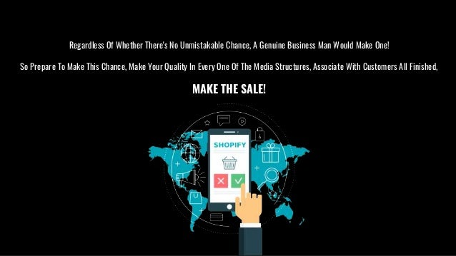 How Shopify Help to Sell Anything, Everywhere to Your Customers?