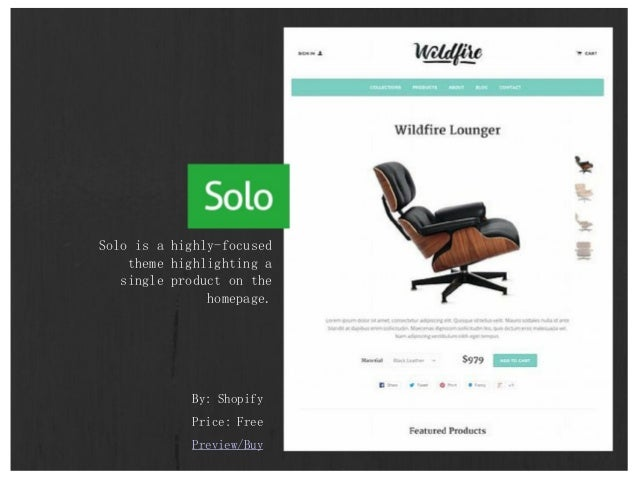 25 Simple and Elegant Shopify Themes