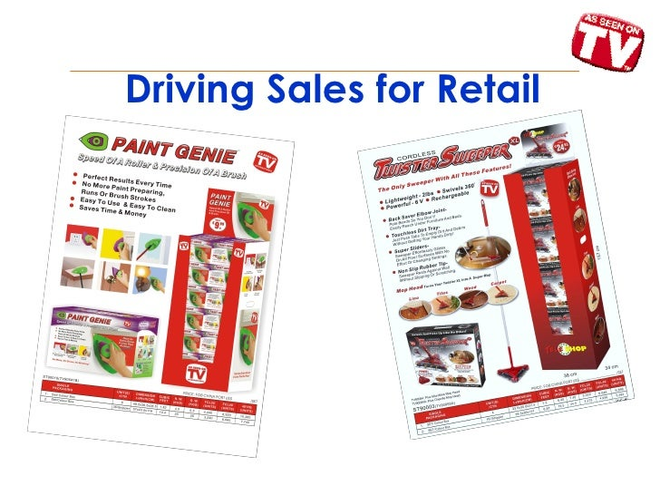 Driving Sales for Retail