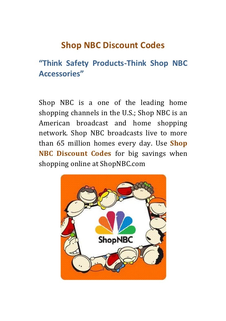 "Shop NBC Discount Codes""Think Safety Products-Think Shop NBCAccessories""Shop NBC is a one of the leading homeshopping chan..."