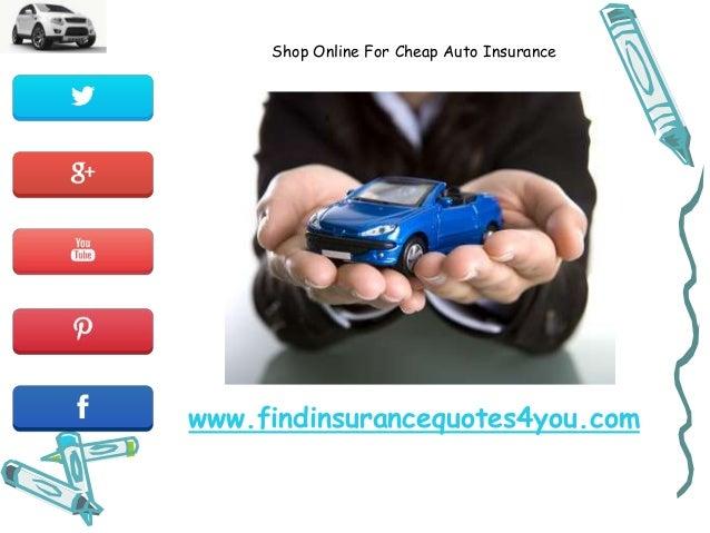 Cheap Car Insurance Online: Shopping Online For Cheap Auto Insurance