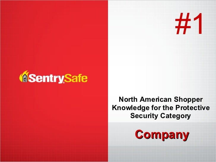 Company North American Shopper Knowledge for the Protective Security Category #1