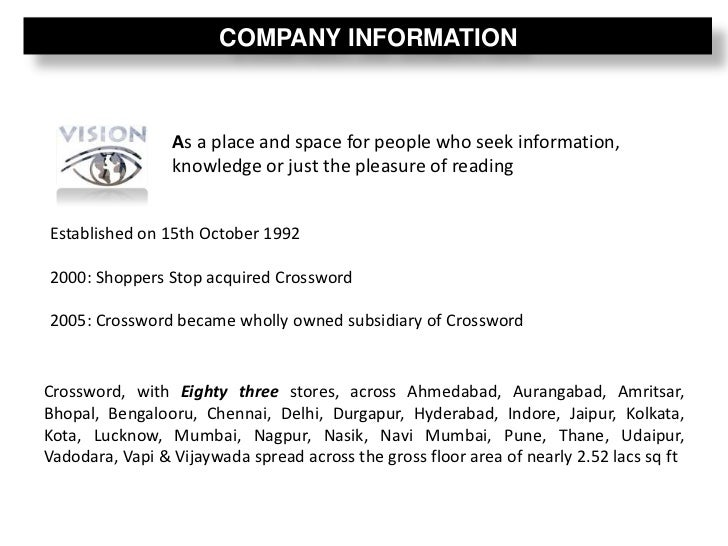 case study shoppers stop Erp implementation shoppers stop information technology essay  shoppers stop are professionally managed and systems  one six-month study of the gujarati.