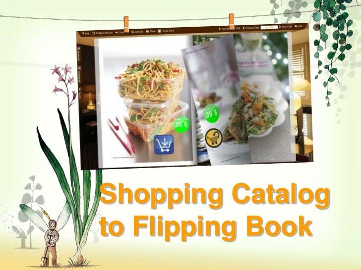 Shopping Catalogto Flipping Book