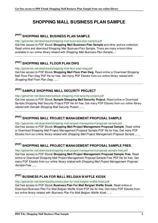 sample business plan pdf coffee shop