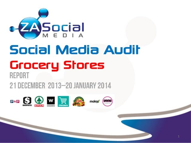 Social Media Audit Grocery Stores  1