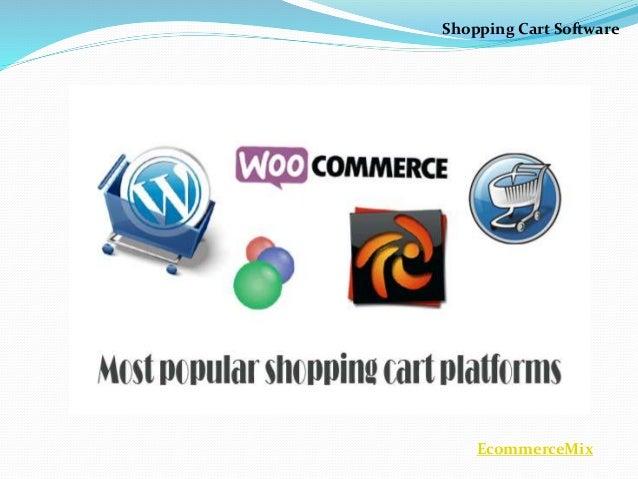 Shopping Cart Software - Ecommercemix