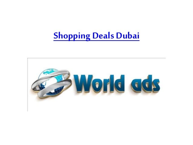 Shopping Deals Dubai