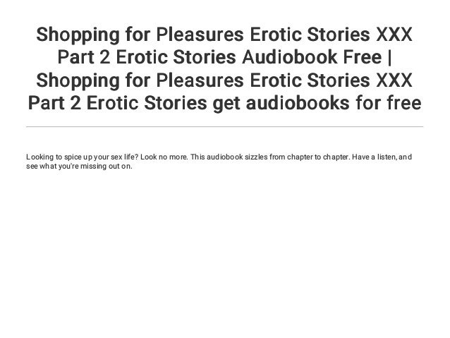 Free audio sex stories for ipod