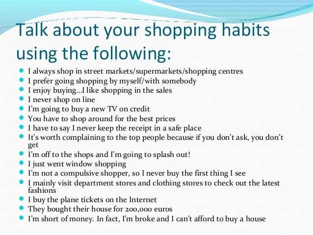 shopping essays Essays from bookrags provide great ideas for shopping mall essays and paper topics like essay view this student essay about shopping mall.