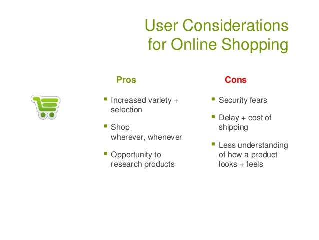 information architecture online shopping