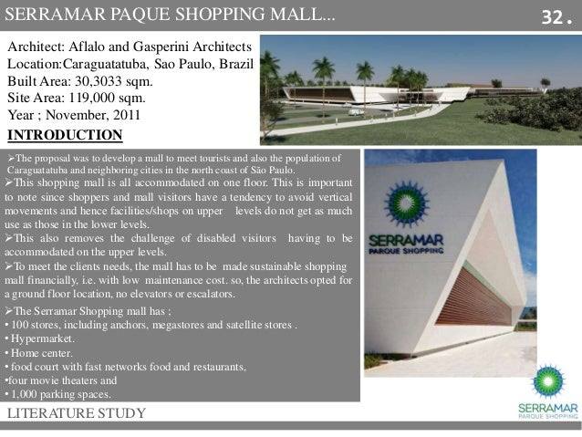literature study of mall Although there is not a large body of work that studies malls from a marketing   this paper uses the literature, when available, to explore how malls are.