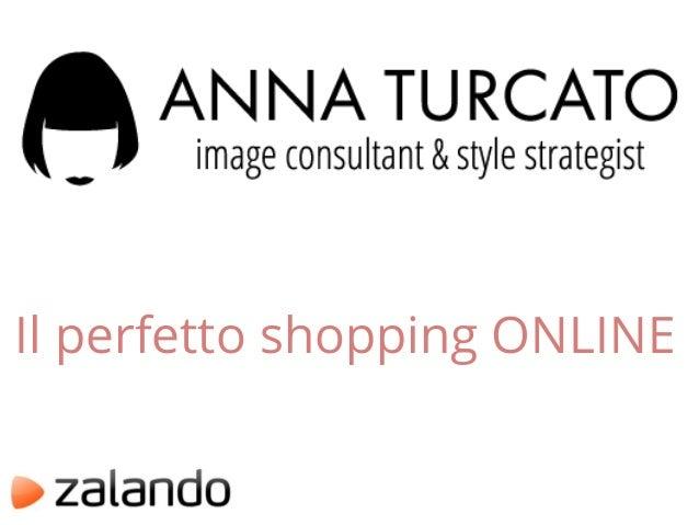 Il perfetto shopping ONLINE