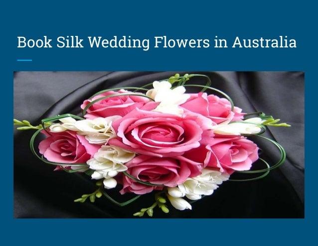 Shop Silk Wedding Bouquets In Australia