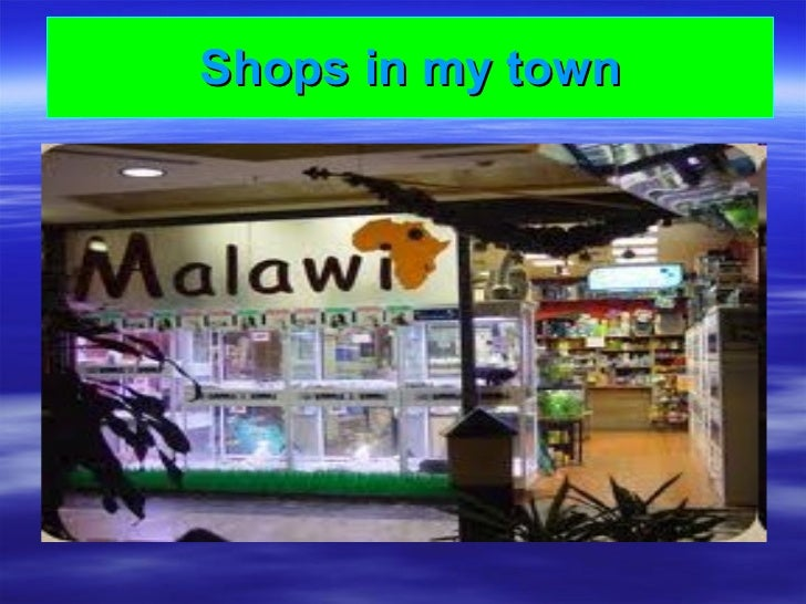 Shops in my town