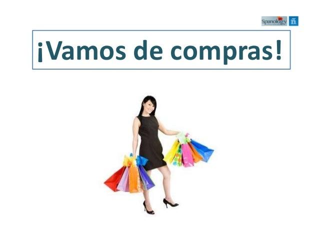 ¡Vamos de compras!