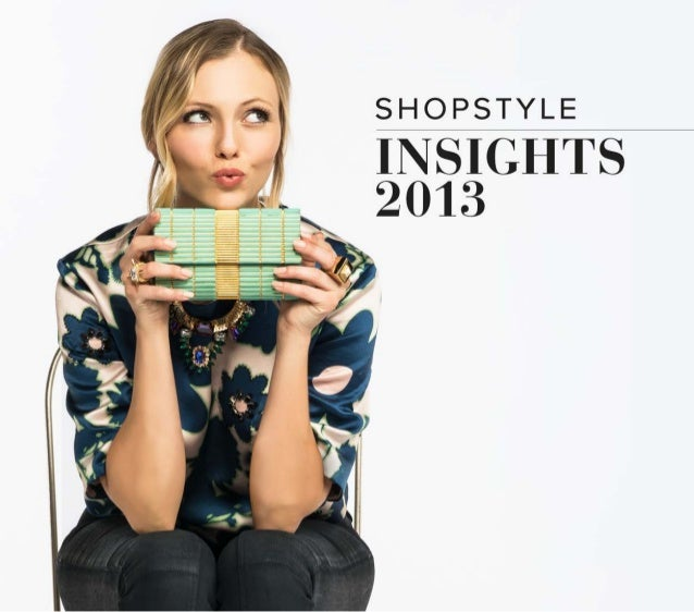 ShopStyle Insights 2013