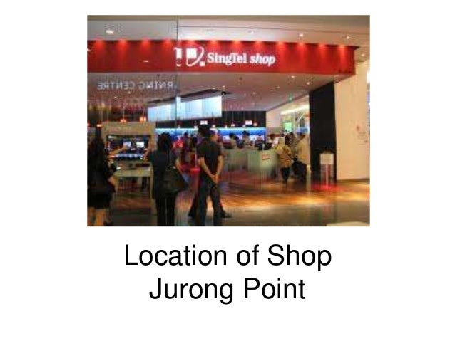 Location of Shop  Jurong Point