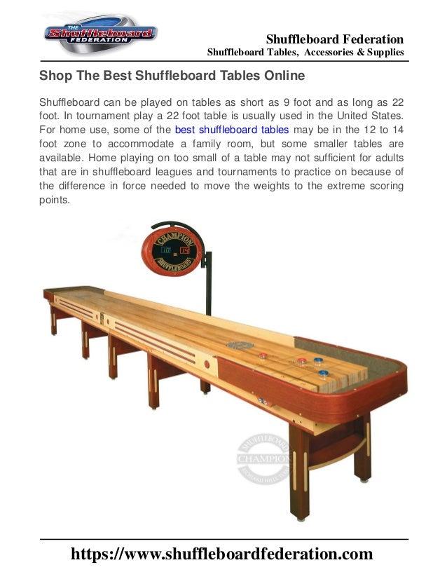 Superieur Shuffleboard Federation Shuffleboard Tables, Accessories U0026 Supplies  Https://www.shuffleboardfederation.