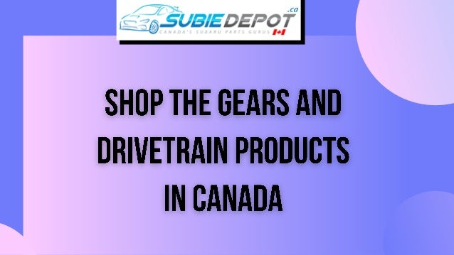 Shop the Gears and Drivetrain Product for your Scion FR-S, Subaru BRZ. SubieDepot has the largest stock for vehicle's prod...