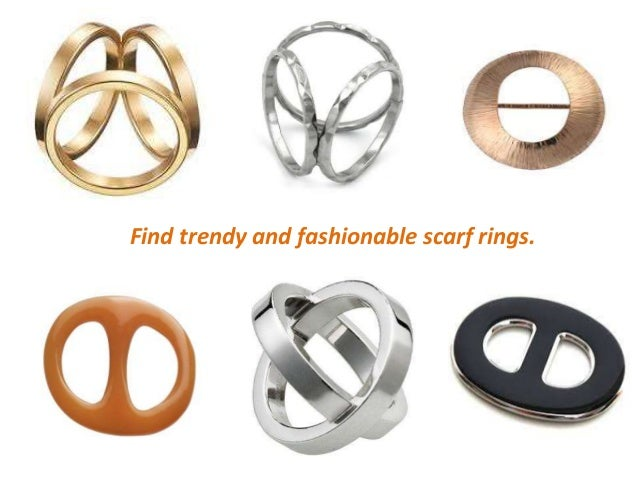 tricyclic scarf clip rings ring brooch buckle s