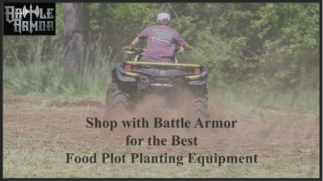 Shop With Battle Armor For The Best Food Plot Planting Equipment