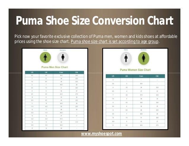 Convert Shoe Size  Us