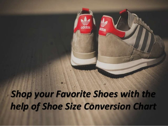 Shop your favorite shoes with the help of shoe size conversion