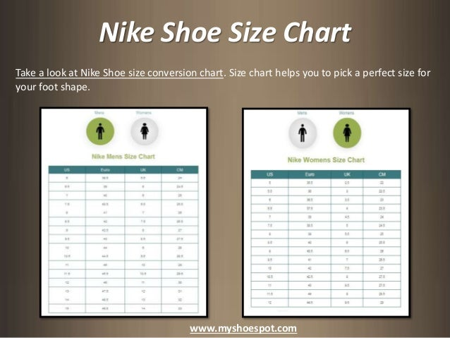 Shop your favorite shoes with the help of shoe size conversion chart 624dc044e