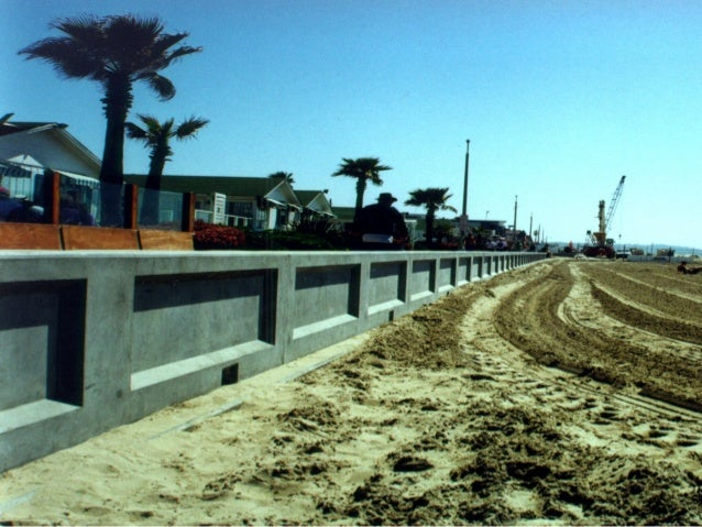 Hard Engineering Measures • Breakwaters (-) - Materials deposited in the zones behind the breakwater are protected while t...