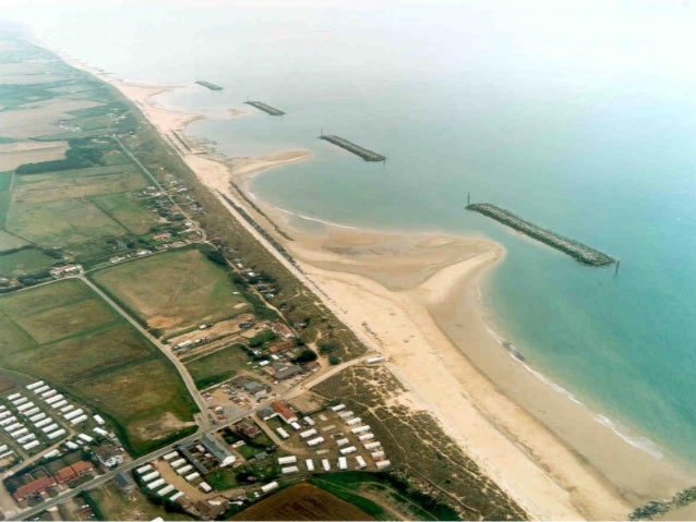 Hard Engineering Measures • Groynes (-) - Erosion can still take place on the part of the coast that is not protected by g...