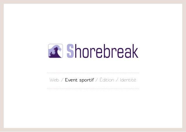 Web / Event sportif / Édition / Identité