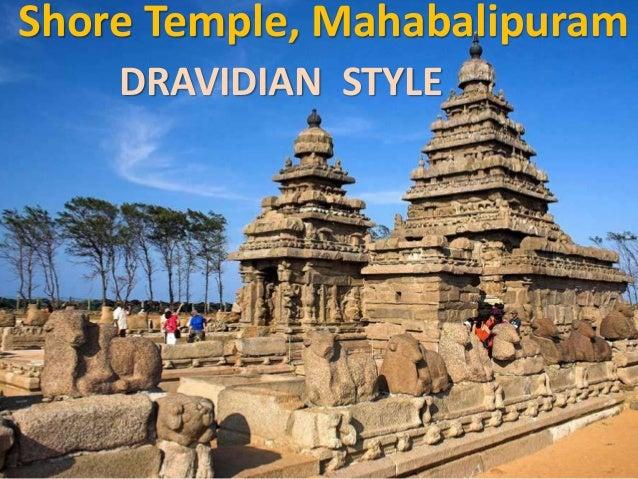 Shore Temple, Mahabalipuram DRAVIDIAN STYLE