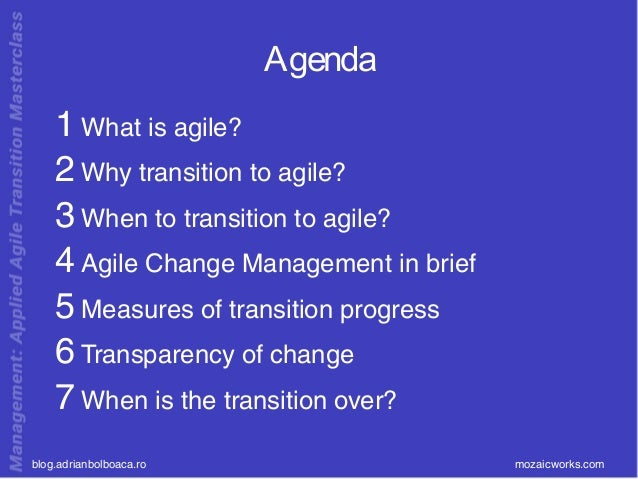 Short Guide to you Agile Transformation Slide 3